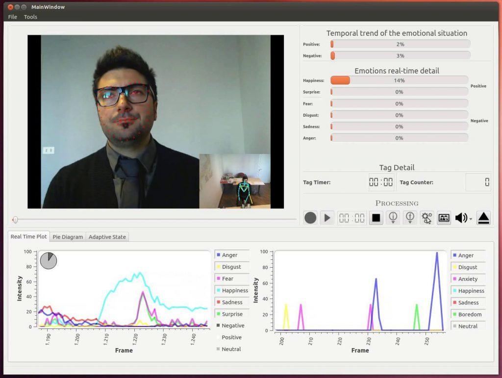 Figura 6: Screenshot della GUI